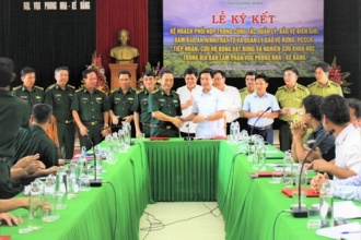 Ban Quản lý VQG Phong Nha - Kẻ Bàng tổ chức thành công lễ ký kết Kế hoạch phối hợp với Bộ Chỉ huy Bộ đội Biên phòng tỉnh Quảng Bình